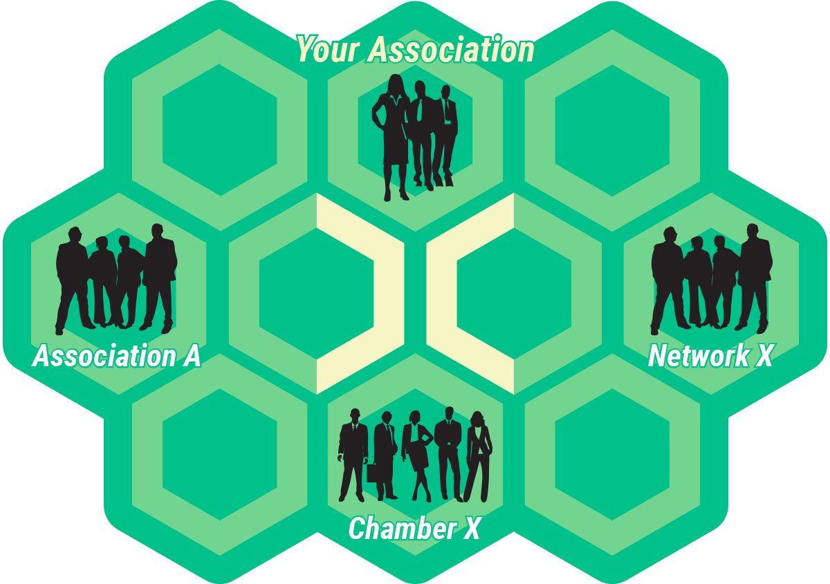 hive business social and commerce netwok platform features for associations